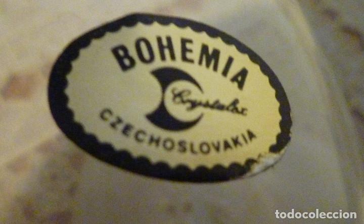 Antigüedades: 6 COPAS CRISTAL DE BOHEMIA NUEVO - Foto 2 - 103421959