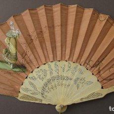 Antigüedades: BONITO ABANICO S. XIX. Lote 103422599