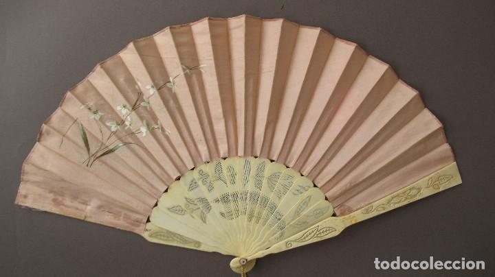 Antigüedades: Bonito abanico s. XIX - Foto 5 - 103422599