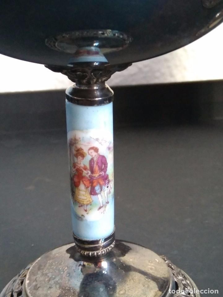 Antigüedades: copas de cava de alpaca - Foto 4 - 103447507