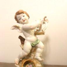 Antigüedades: FIGURA PORCELANA- PRIMAVERA (4 ESTACIONES)- ALGORA (ÁNGEL ANGELITO QUERUBÍN). Lote 103472192