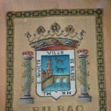 Antigüedades: REPOSTERO TAPIZ DE BILBAO DE TAPICES ELECCIÓN. Lote 103473635