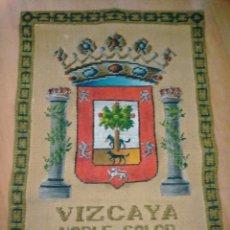 Antigüedades: REPOSTERO TAPIZ DE VIZCAYA DE TAPICES ELECCIÓN. Lote 103474955