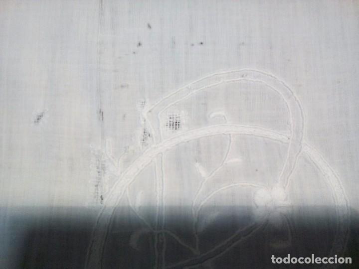 Antigüedades: * ANTIGUA SABANA DE HILO. 2,10M. (Rf:LL34/e) - Foto 7 - 103485271