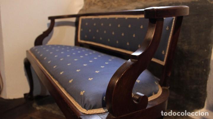Antigüedades: Banco y sillas S.XVIII - Foto 3 - 103494071