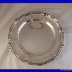 Antigüedades: BAJOPLATO SALVILLA DE PLATA 916 FIRMADA M BALAGUER. Lote 103495255