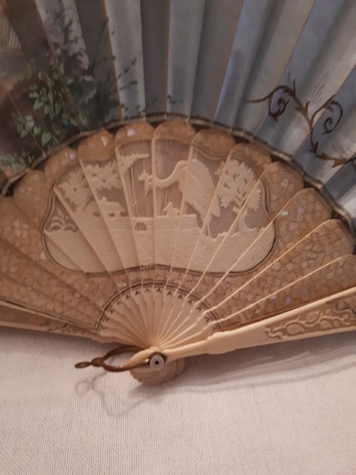 Antigüedades: Maravilloso abanico antiguo - Foto 2 - 103495515