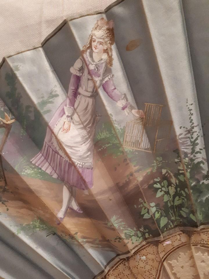 Antigüedades: Maravilloso abanico antiguo - Foto 4 - 103495515