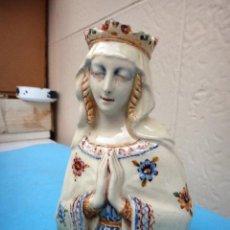 Antigüedades: PORCELANA DE PEYRO , VIRGEN , AÑO DE LA VICTORIA , ORIGINAL , A9. Lote 103496007
