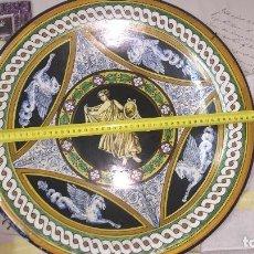 Antigüedades: PLATO ANTIGUO GRANDE DE PORCELANA. Lote 103503051
