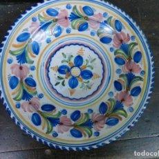 Antigüedades: PLATO DE LOZA DE TALAVERA. Lote 103508523