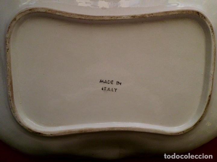 Antigüedades: ANTIGUA SOPERA CON FUENTE MADEN ITAL - Foto 9 - 103521323