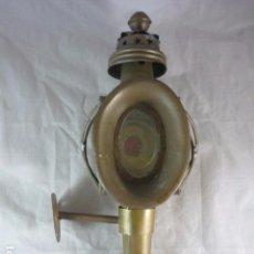 Antiquitäten - Farol de Carruaje - Con Soporte - Laton 38cm - 103527495