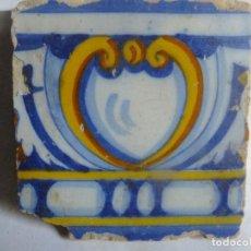 Antiquitäten - Azulejo de Talavera ( Toledo) con ova central S.XVI - 103546527