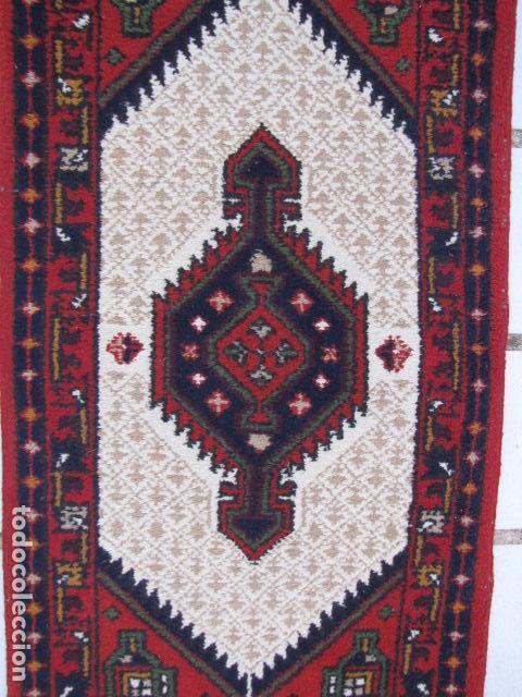 Antigüedades: Alfombra persa. Pura lana anudada a mano. - Foto 2 - 103581771