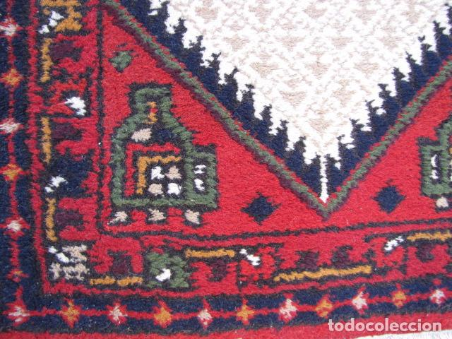 Antigüedades: Alfombra persa. Pura lana anudada a mano. - Foto 3 - 103581771
