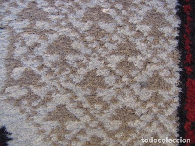 Antigüedades: Alfombra persa. Pura lana anudada a mano. - Foto 8 - 103581771
