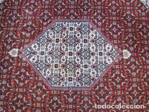 Antigüedades: Antigua y gran alfombra persa. Pura lana anudada a mano - Foto 4 - 103583707