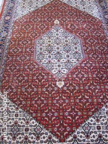 Antigüedades: Antigua y gran alfombra persa. Pura lana anudada a mano - Foto 5 - 103583707