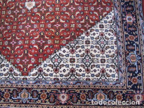 Antigüedades: Antigua y gran alfombra persa. Pura lana anudada a mano - Foto 6 - 103583707