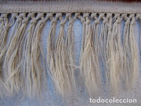 Antigüedades: Antigua y gran alfombra persa. Pura lana anudada a mano - Foto 8 - 103583707