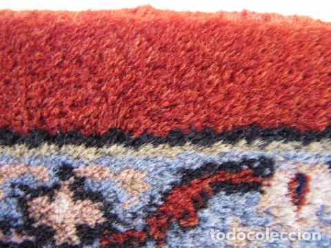 Antigüedades: Antigua y gran alfombra persa. Pura lana anudada a mano - Foto 9 - 103583707