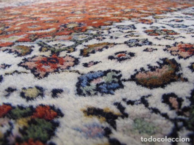 Antigüedades: Antigua y gran alfombra persa. Pura lana anudada a mano - Foto 10 - 103583707
