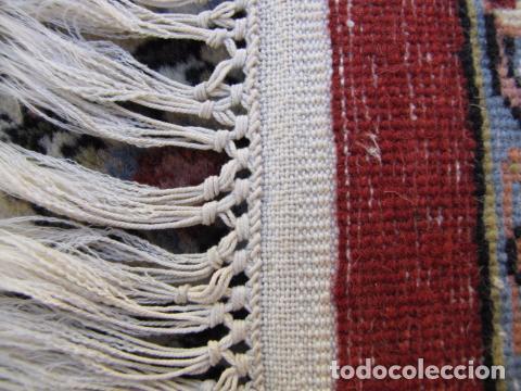 Antigüedades: Antigua y gran alfombra persa. Pura lana anudada a mano - Foto 11 - 103583707
