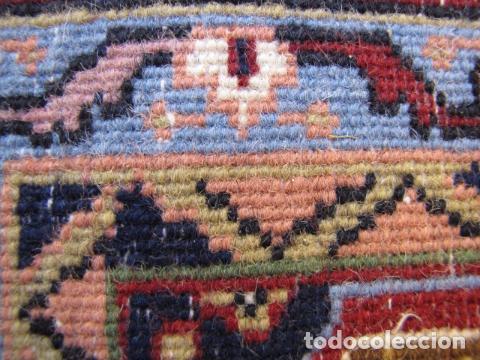 Antigüedades: Antigua y gran alfombra persa. Pura lana anudada a mano - Foto 13 - 103583707
