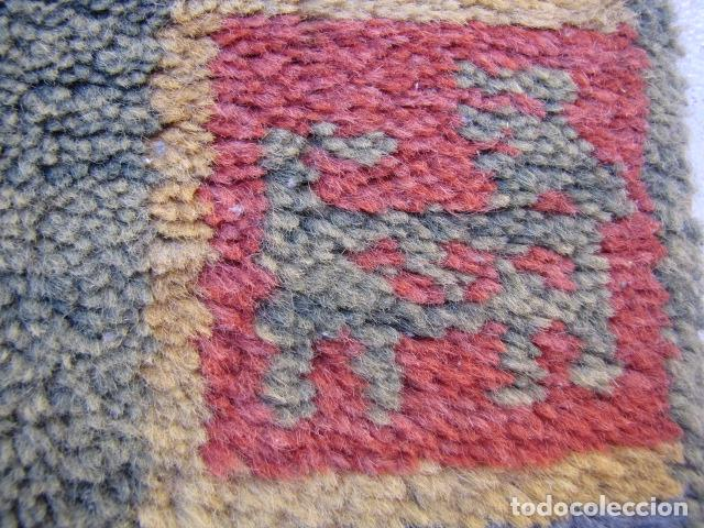Antigüedades: Alfombra magrebí Pura lana, anudada a mano. - Foto 4 - 103584107