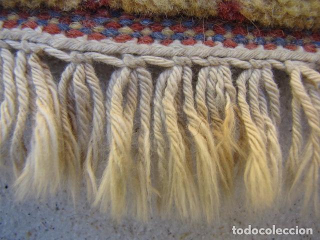 Antigüedades: Alfombra magrebí Pura lana, anudada a mano. - Foto 5 - 103584107