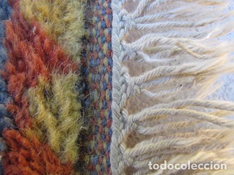 Antigüedades: Alfombra magrebí Pura lana, anudada a mano. - Foto 9 - 103584107