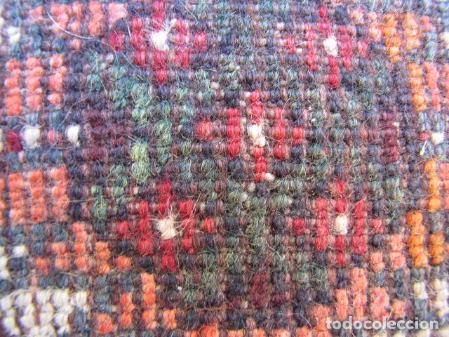 Antigüedades: Antigua alfombra persa. Shiraz. Pura lana, anudada a mano - Foto 10 - 103585275