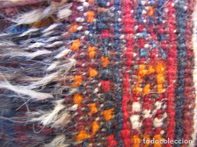 Antigüedades: Antigua alfombra persa. Shiraz. Pura lana, anudada a mano - Foto 7 - 103585667