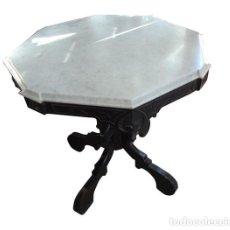 Antigüedades: MESITA VELADOR ISABELINA DEL S. XIX. Lote 103600291