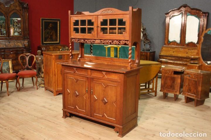 Antigüedades: Aparador Holandés En Madera De Roble - Foto 3 - 103611931
