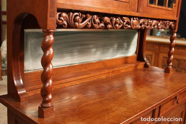 Antigüedades: Aparador Holandés En Madera De Roble - Foto 6 - 103611931