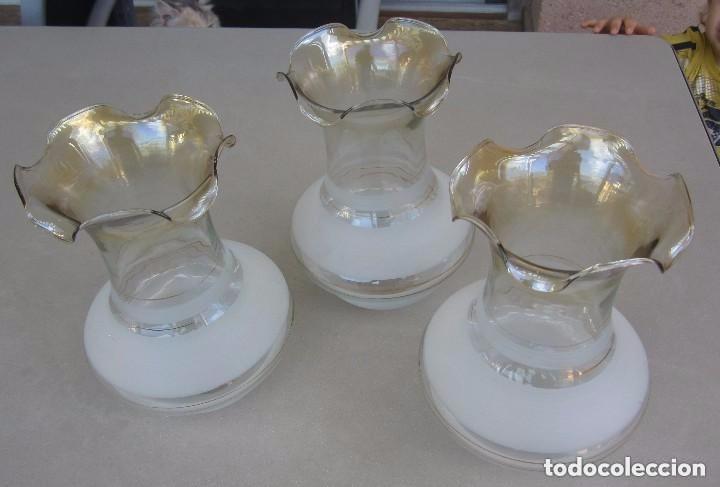 3 tulipas para lampara gas comprar l mparas antiguas en for Tulipas para lamparas