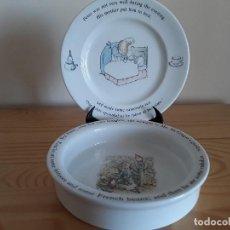 Antigüedades: PORCELANA INGLESA WEDGWOOD. Lote 103615907