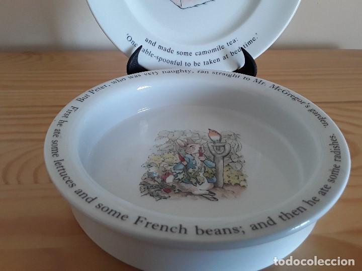 Antigüedades: Porcelana inglesa Wedgwood. Peter Rabbit - Foto 2 - 103615907