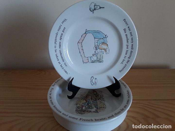 Antigüedades: Porcelana inglesa Wedgwood. Peter Rabbit - Foto 9 - 103615907