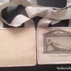Antigüedades: ESCAPULARIO - NUESTRA SEÑORA DEL TRANSITO. Lote 103632991