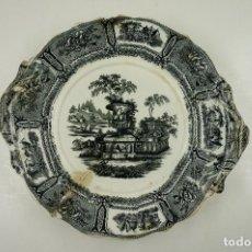 Antigüedades: PLATO DE SARGADELOS DE CERÁMICA, 34CM DE ASA A ASA.. Lote 103668563