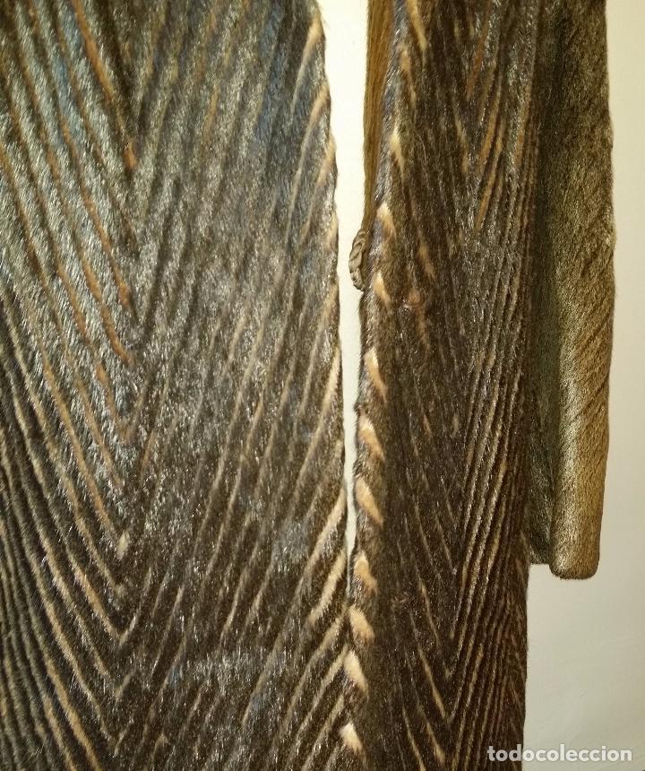 Antigüedades: Abrigo de piel natural - Foto 5 - 103674079