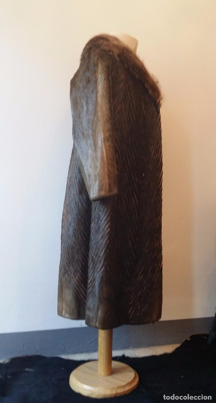 Antigüedades: Abrigo de piel natural - Foto 6 - 103674079
