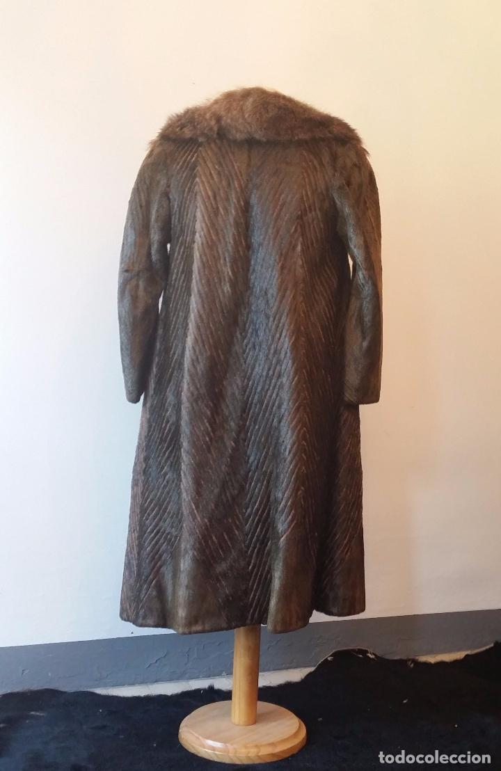 Antigüedades: Abrigo de piel natural - Foto 7 - 103674079