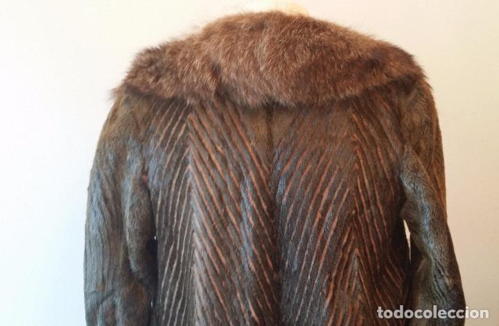 Antigüedades: Abrigo de piel natural - Foto 8 - 103674079