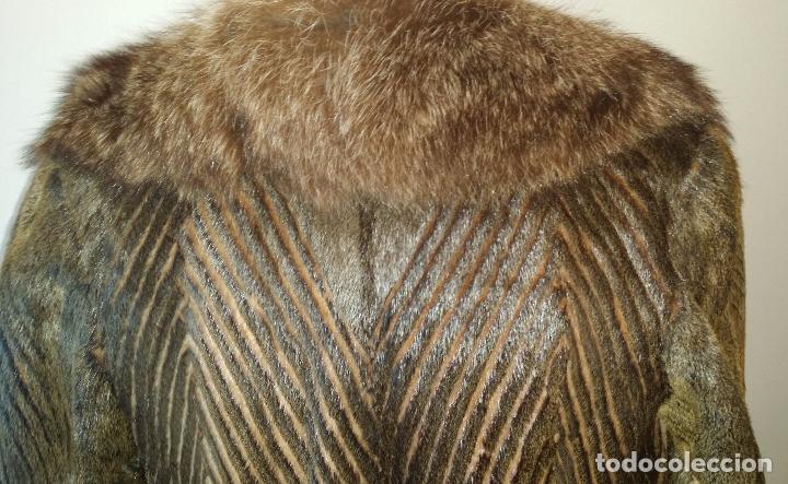 Antigüedades: Abrigo de piel natural - Foto 9 - 103674079
