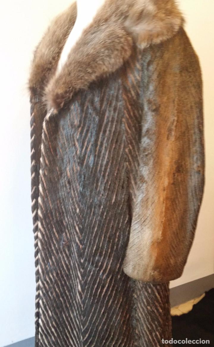 Antigüedades: Abrigo de piel natural - Foto 11 - 103674079