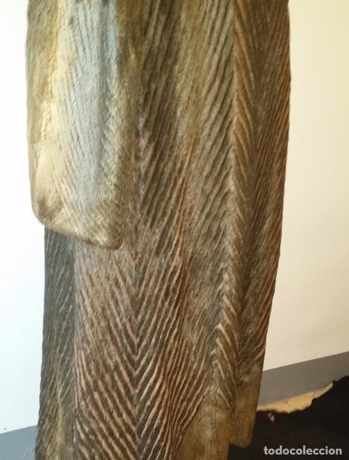 Antigüedades: Abrigo de piel natural - Foto 13 - 103674079